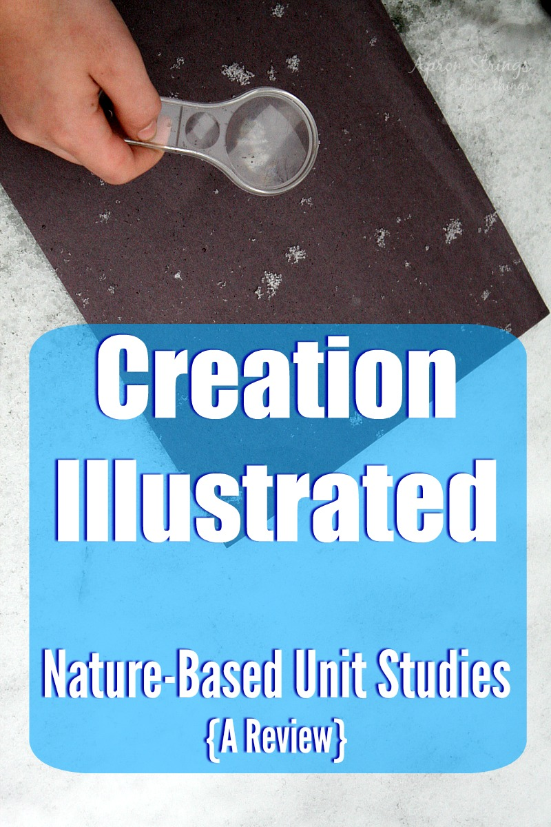 Creation Illustrated Nature Based Unit Studies Intricasies of Snow at ApronStringsOtherThings.com