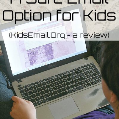A Safe Email Option for Your Children {Kids Email Review}