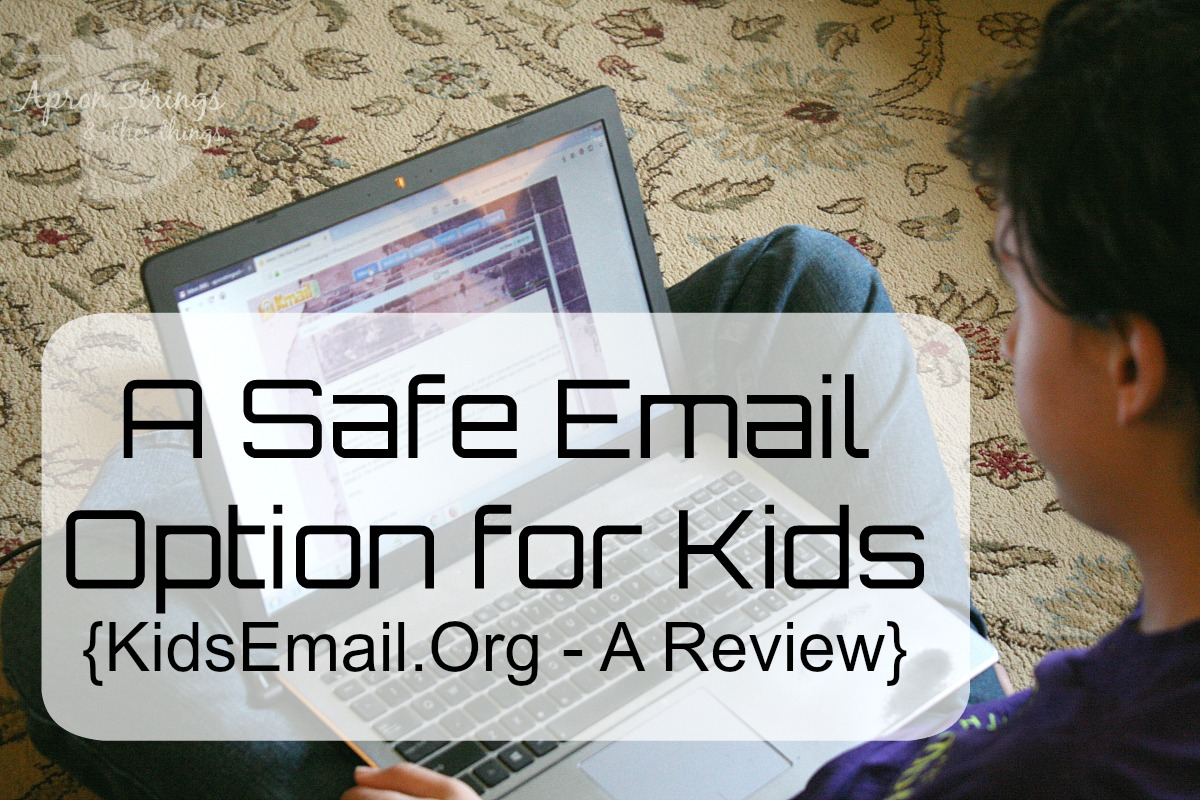 A Safe Email Option for Your Kids KidsEmail review at ApronStringsOtherThings.com