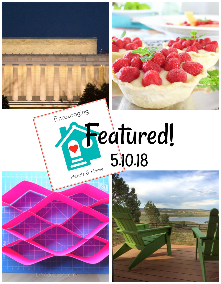 Encouraging Hearts & Home Blog Hop 5.10.18 Featured at ApronStringsOtherThings.com