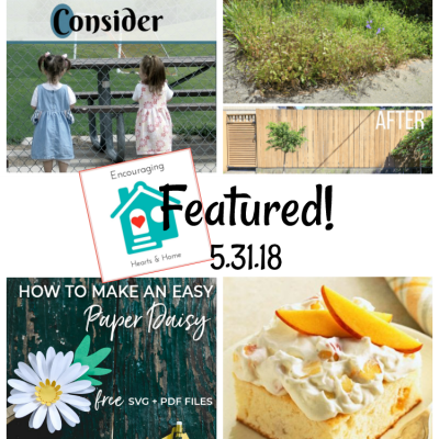 Encouraging Hearts & Home Blog Hop 5.31.18