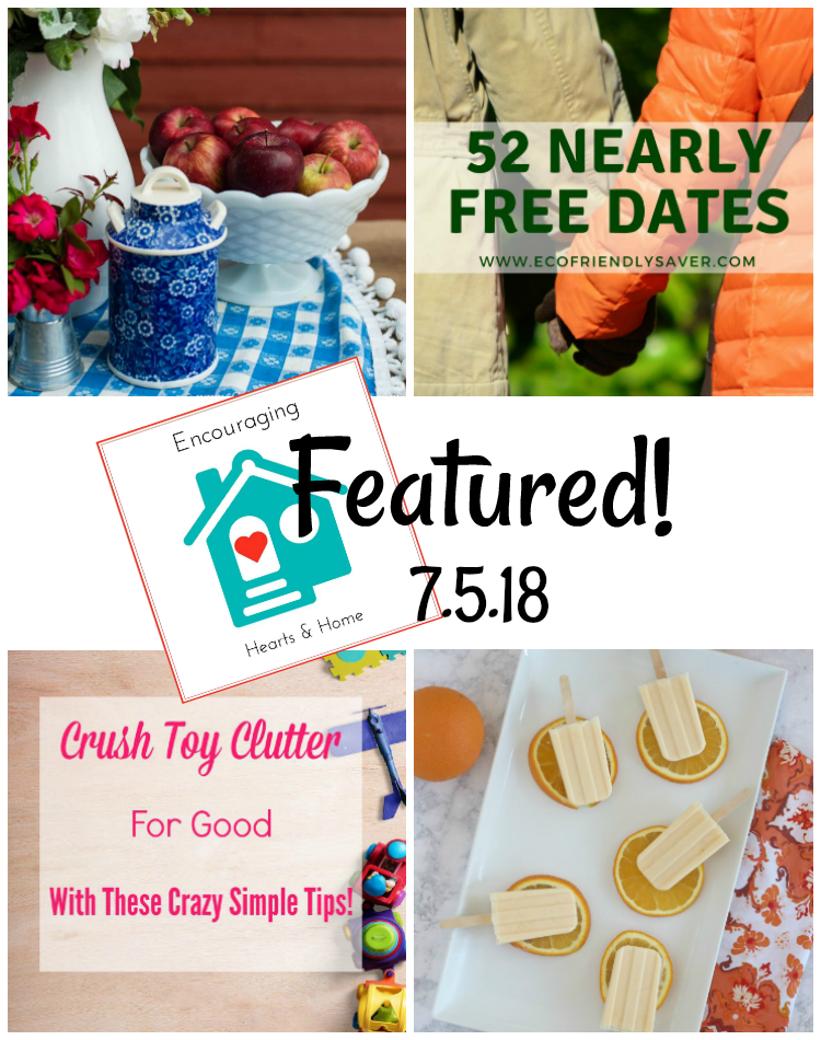 Encouraging Hearts & Home Blog Hop 7.5.18 Featured at ApronSTringsOtherThings.com