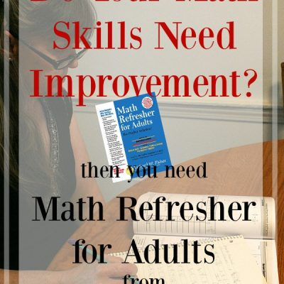 Polish Your Math Skills with Math Refresher for Adults {a review}