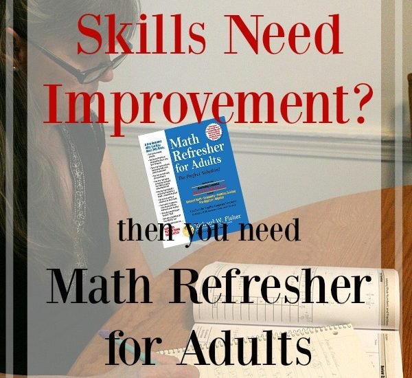 Improve Your Maths Skills with Math Refresher for Adults from Math Essentials at ApronStringsOtherThings.com