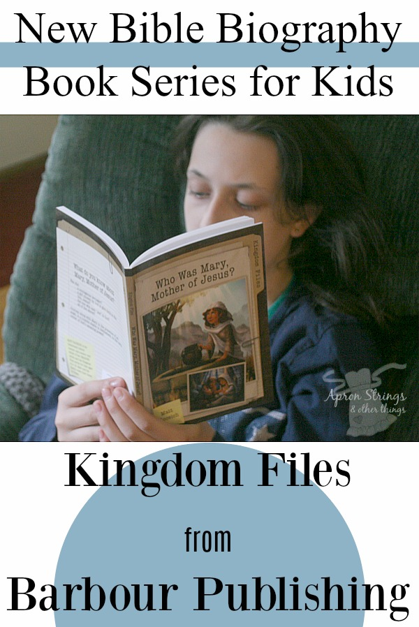 Bible Biography Book Series Kingdom Files Barbour Publishing at ApronStringsOtherThings.com
