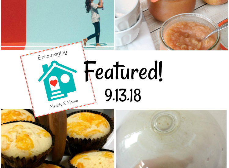 Encouraging Hearts & Home Blog Hop 9.13.18 Featured at ApronStringsOtherThings.com