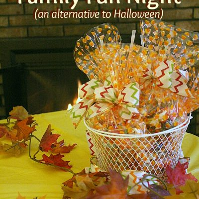 Fall Harvest Family Fun Night (an alternative to Halloween) #DollarTreeHoliday
