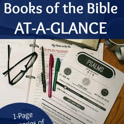 Books of the Bible At-a-Glance Review