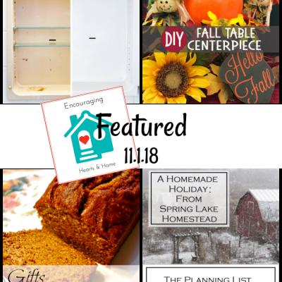 Encouraging Hearts & Home Blog Hop 11.1.18
