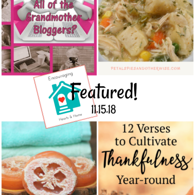 Encouraging Hearts & Home Blog Hop 11.15.18