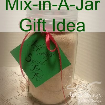 Homemade Hot Spiced Tea Recipe for Mix-in-A-Jar Gift Idea