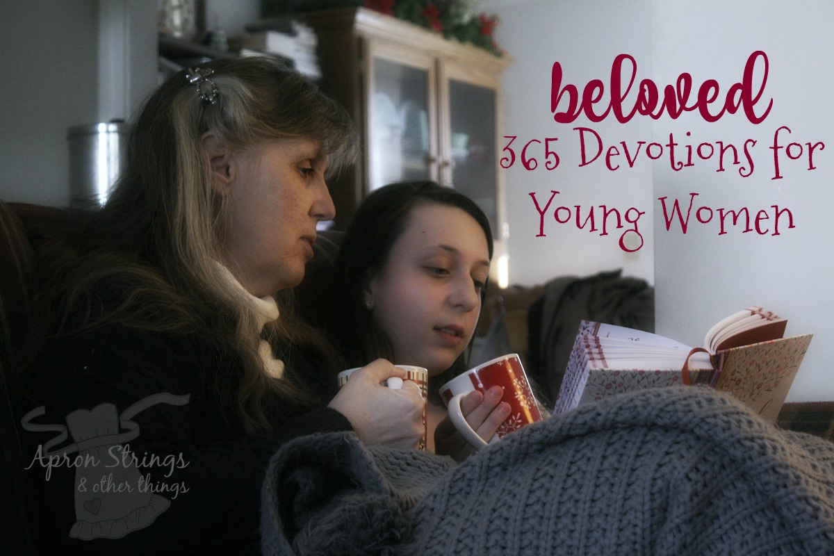 Beloved 365 Devotions for Young Women Zondervan at ApronSTringsotherThings.com