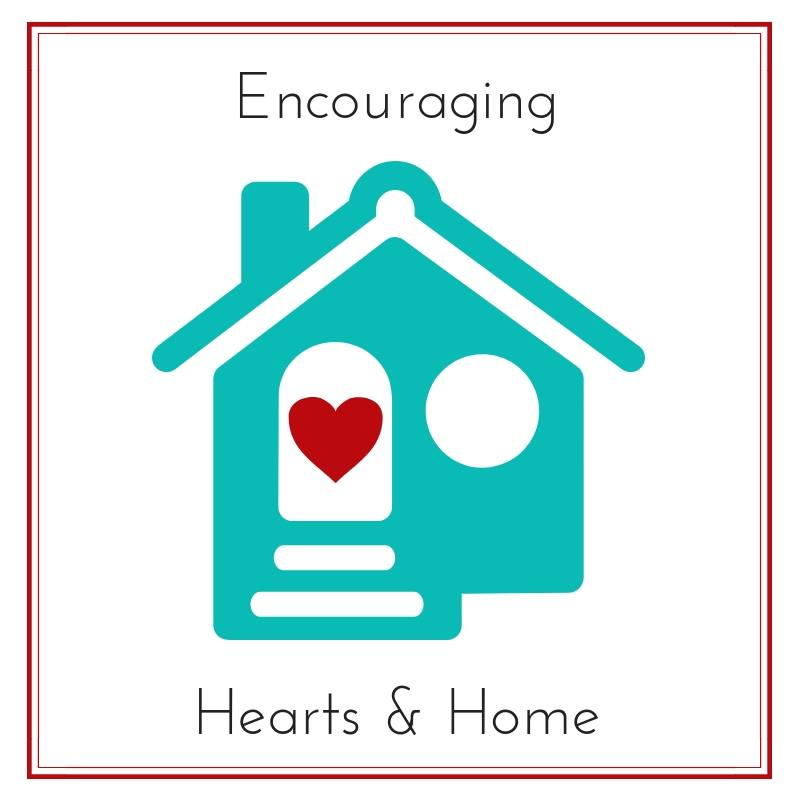 Encouraging Hearts & Home Blog Hop at ApronStringsOtherThings.com