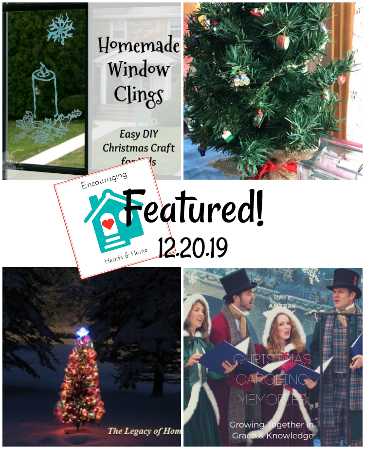 Encouraging Hearts & Home Blog Hop Featured 12.20.19 at ApronStringsOtherThings.com