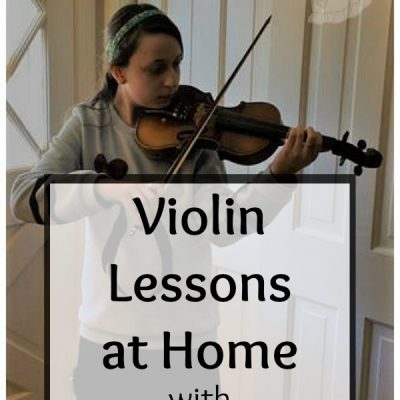 Live Online Violin Lessons with Practice Monkeys {A Review}