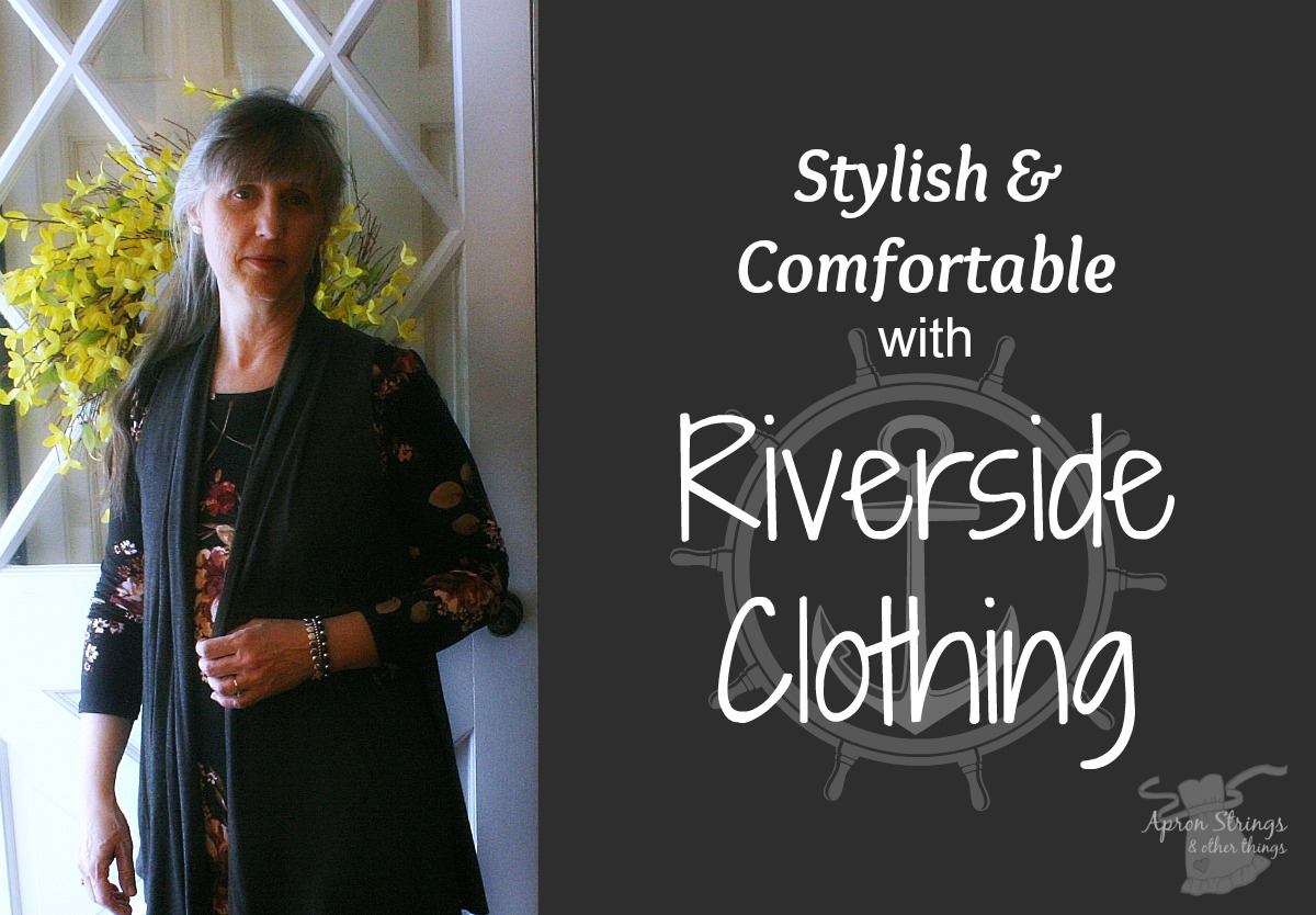 Riverside Clothing Fashionable Comfortable Feminine Modest at ApronStringsOtherThings.com