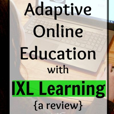 Adaptive Online Education with IXL Learning {a review}