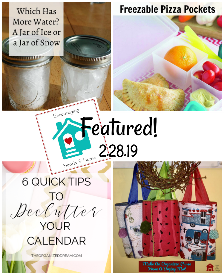 Encouraging Hearts & Home blog hop featured 2.28.19 at ApronStringsOtherThings.com