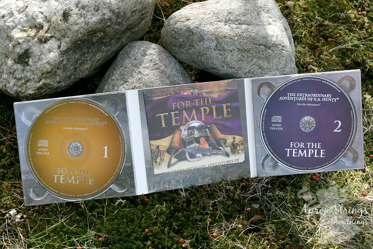For The Temple 2 CD Set Heirloom Audio Productions a review at ApronStringsotherThings.com
