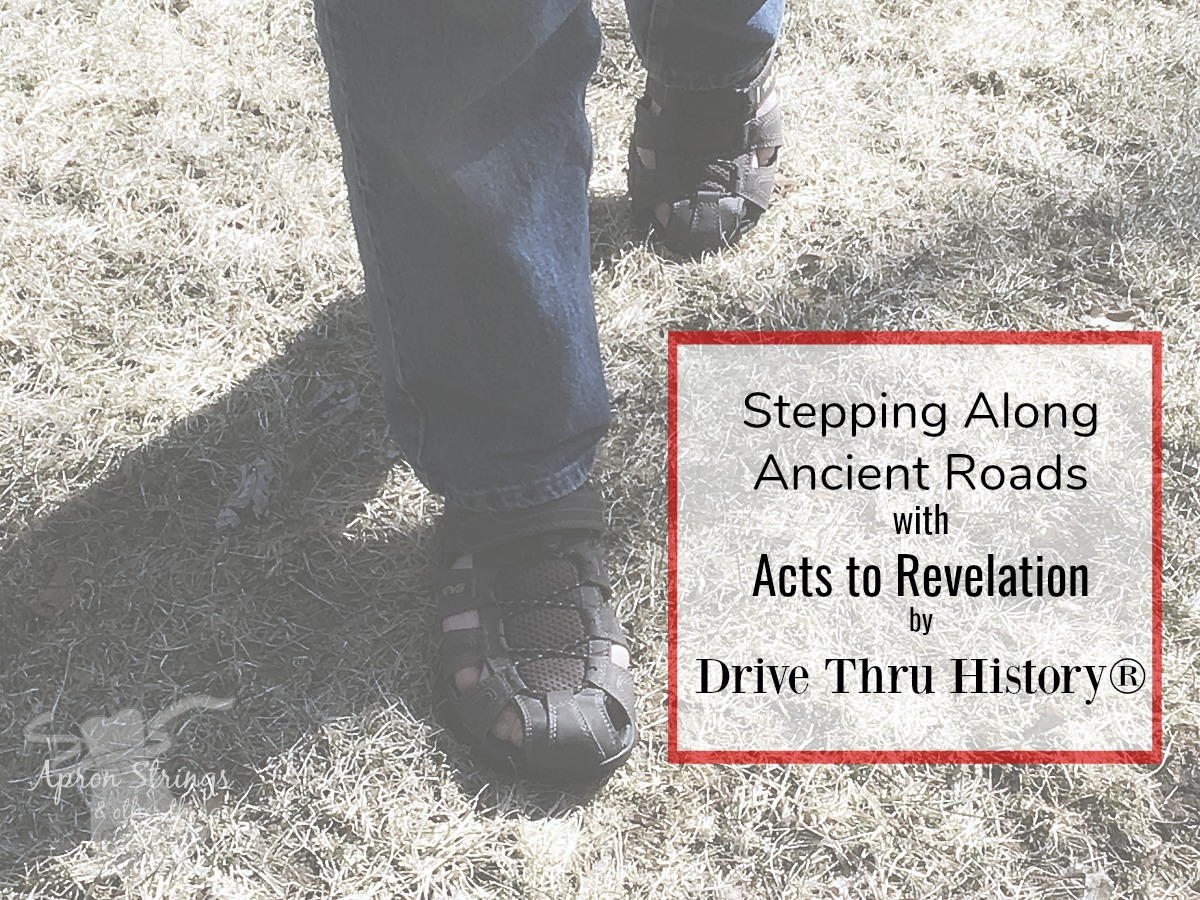 Acts to Revelation Drive Thru History at ApronStringsOtherThings.com