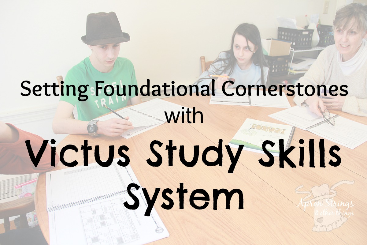 Victus Study Skills System review at ApronStringsOtherThings.com