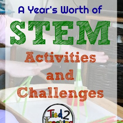 A Year's Worth of STEM Activities and Challenges {a review}