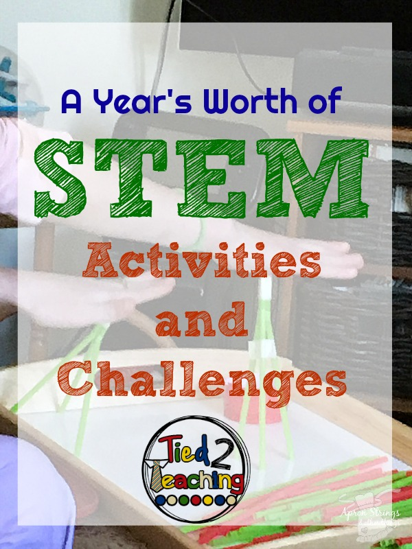 tied 2 teaching stem education challenge at ApronStringsOtherThings.com