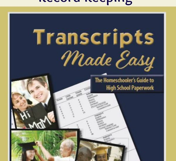 Everything You Need for High School Record-Keeping Transcripts Made Easy by Janice Campbell at ApronStringsOtherThings.com