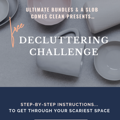Declutter Your Scariest Place – Take The Challenge!