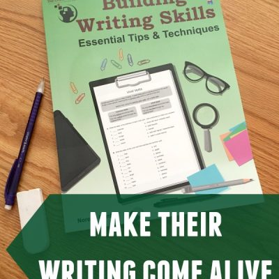 Building Your Student's Writing Skills {A Review}