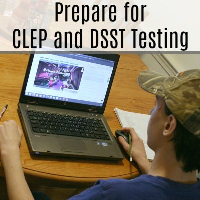Courses to Help Prepare for CLEP and DSST Testing {A Review}