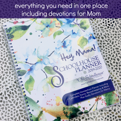 Hey Mama! Homeschool Planner {A Review}