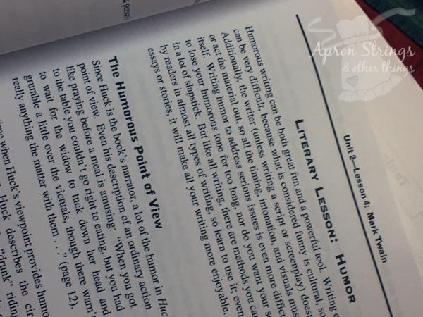 Lightning Lit Hewitt Homeschooling Literary Lesson at ApronStringsOtherThings.com
