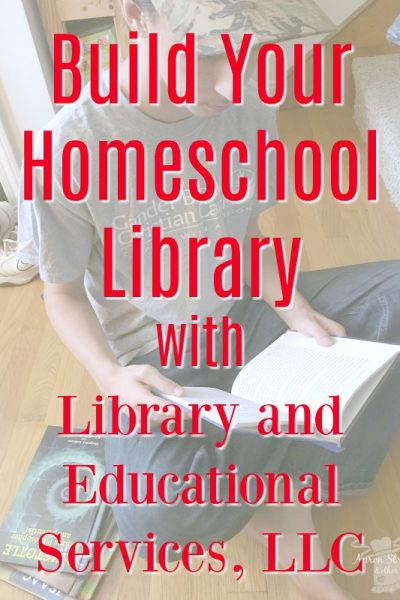 Build Your Homeschool Library with Library and Educational Services at ApronStringsOtherThings.com