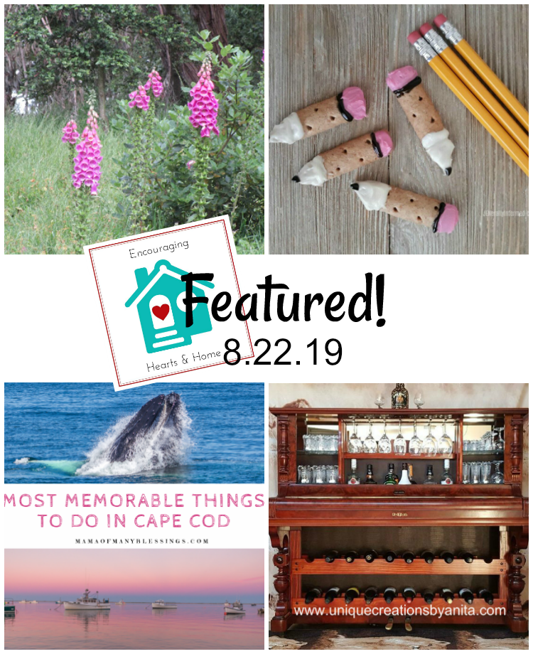 Encouraging Hearts & Home blog hop featured 8.22.19 at ApronStringsOtherThings.com