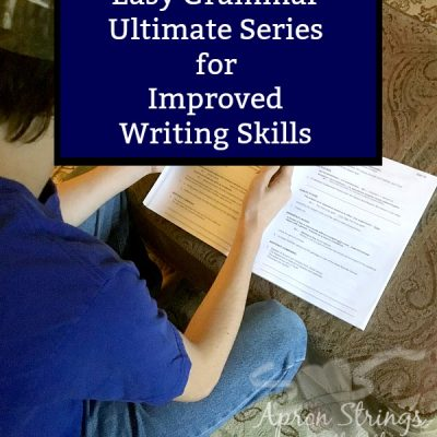 Use Easy Grammar Ultimate Series for Improved Writing Skills {A Review}