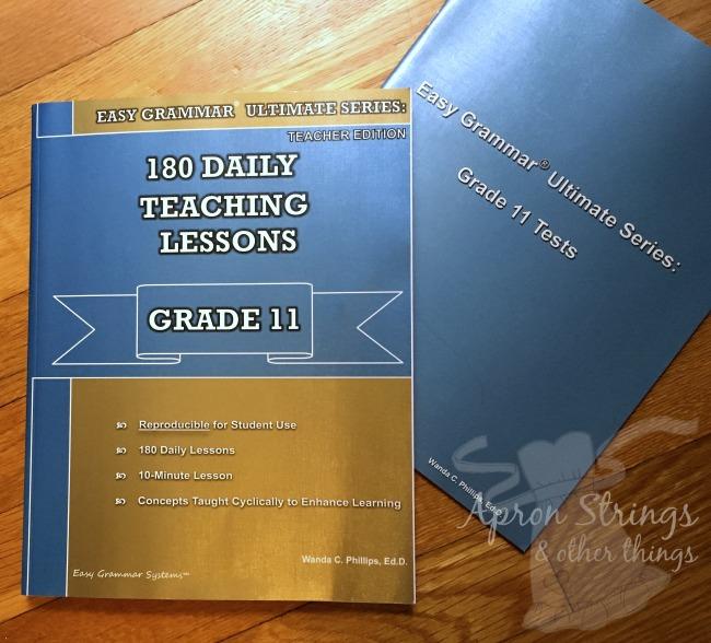 easy grammar ulitmate series grade 11 at ApronSTringsOtherThings.com