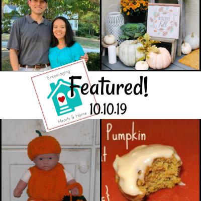 Encouraging Hearts & Home Blog Hop 10.10.19