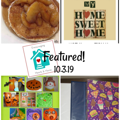 Encouraging Hearts & Home Blog Hop 10.3.19