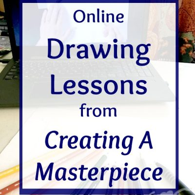 Learn to Draw with Creating A Masterpiece {A Review}