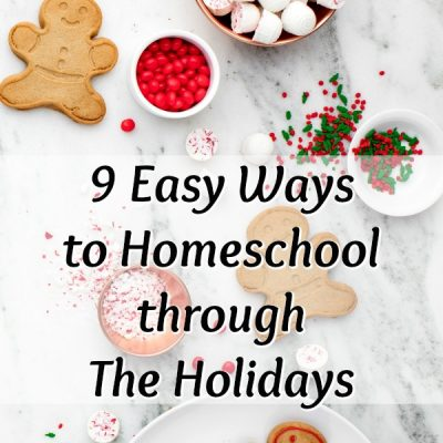 9 Easy Ways to Homeschool through The Holidays