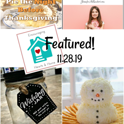 Encouraging Hearts & Home Blog Hop 11.28.19