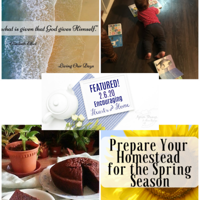Encouraging Hearts & Home Blog Hop 2.6.20