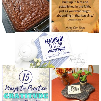 Encouraging Hearts & Home Blog Hop 11.12.20