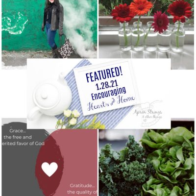 Encouraging Hearts & Home Blog Hop 1/28/21