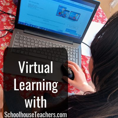 Virtual Learning with SchoolhouseTeachers.com {a review}