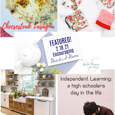 Encouraging Hearts & Home Blog Hop 2/18/21