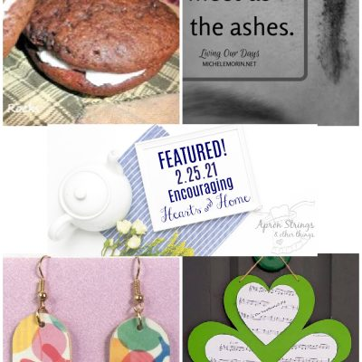Encouraging Hearts & Home Blog Hop 2/25/21