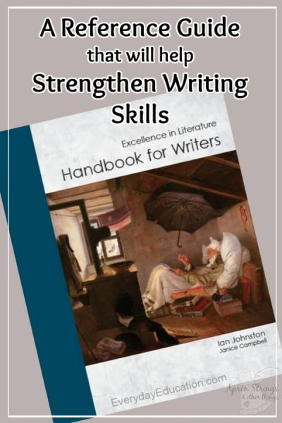A Reference Guide that will help Strengthen Writing Skills handbook for writers everyday education review at apronstringsotherthings.com