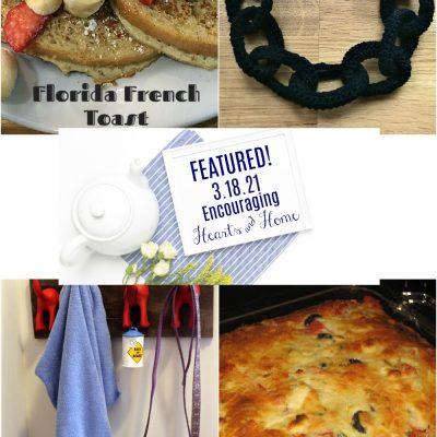Encouraging Hearts & Home Blog Hop 3/18/21